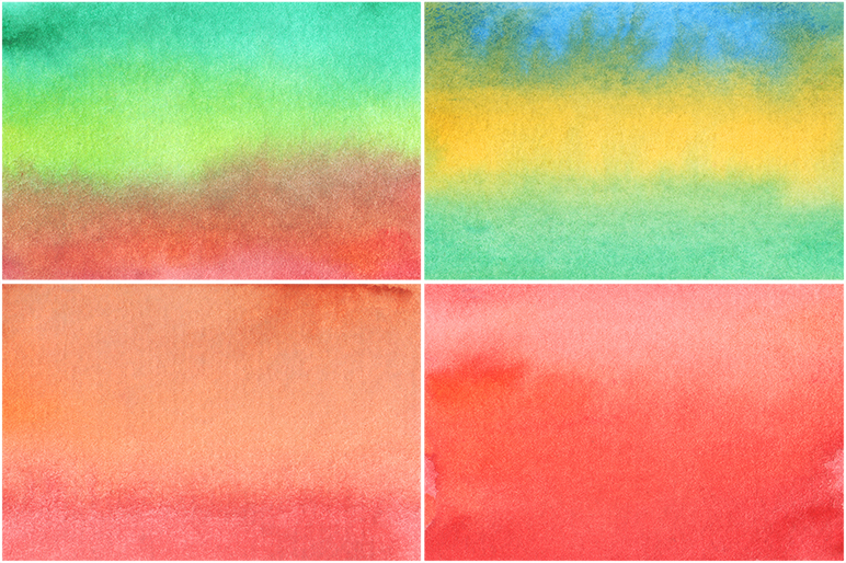 50 Watercolor Backgrounds 04 example image 6