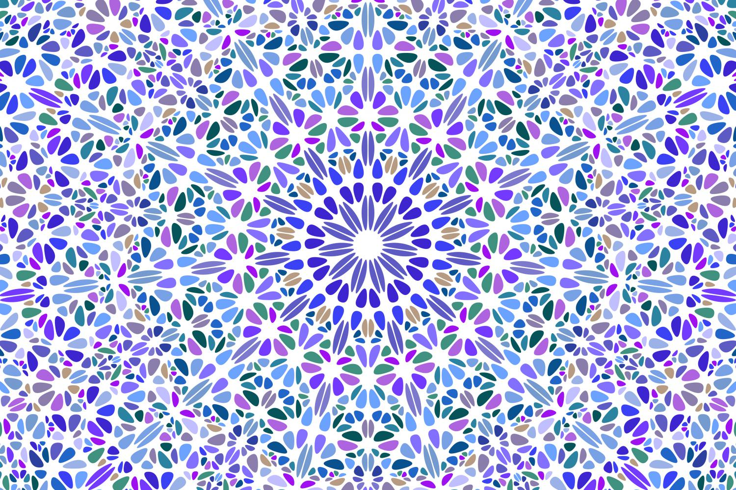 48 Floral Mandala Backgrounds example image 10