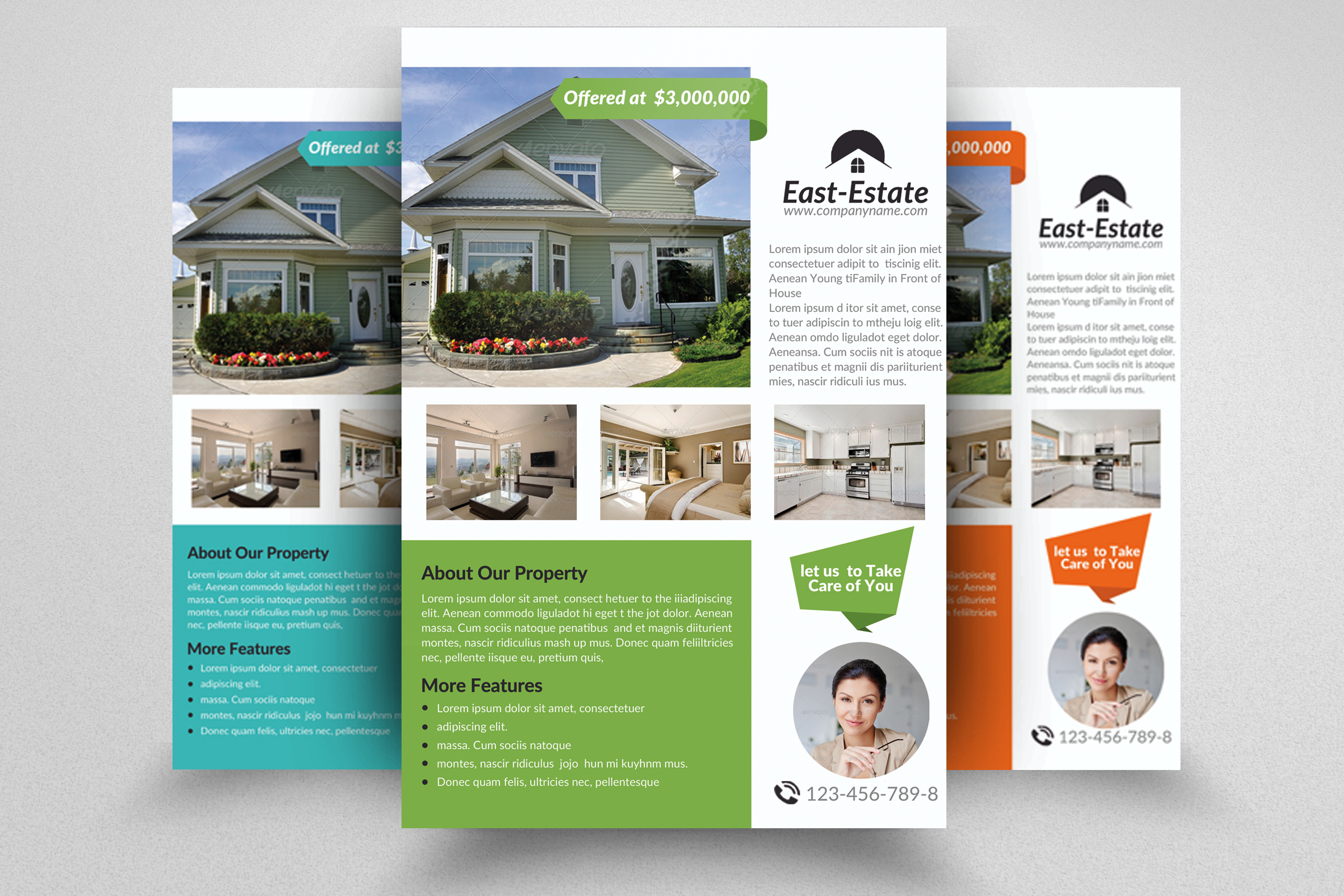 Real Estate Flyer Templates example image 1
