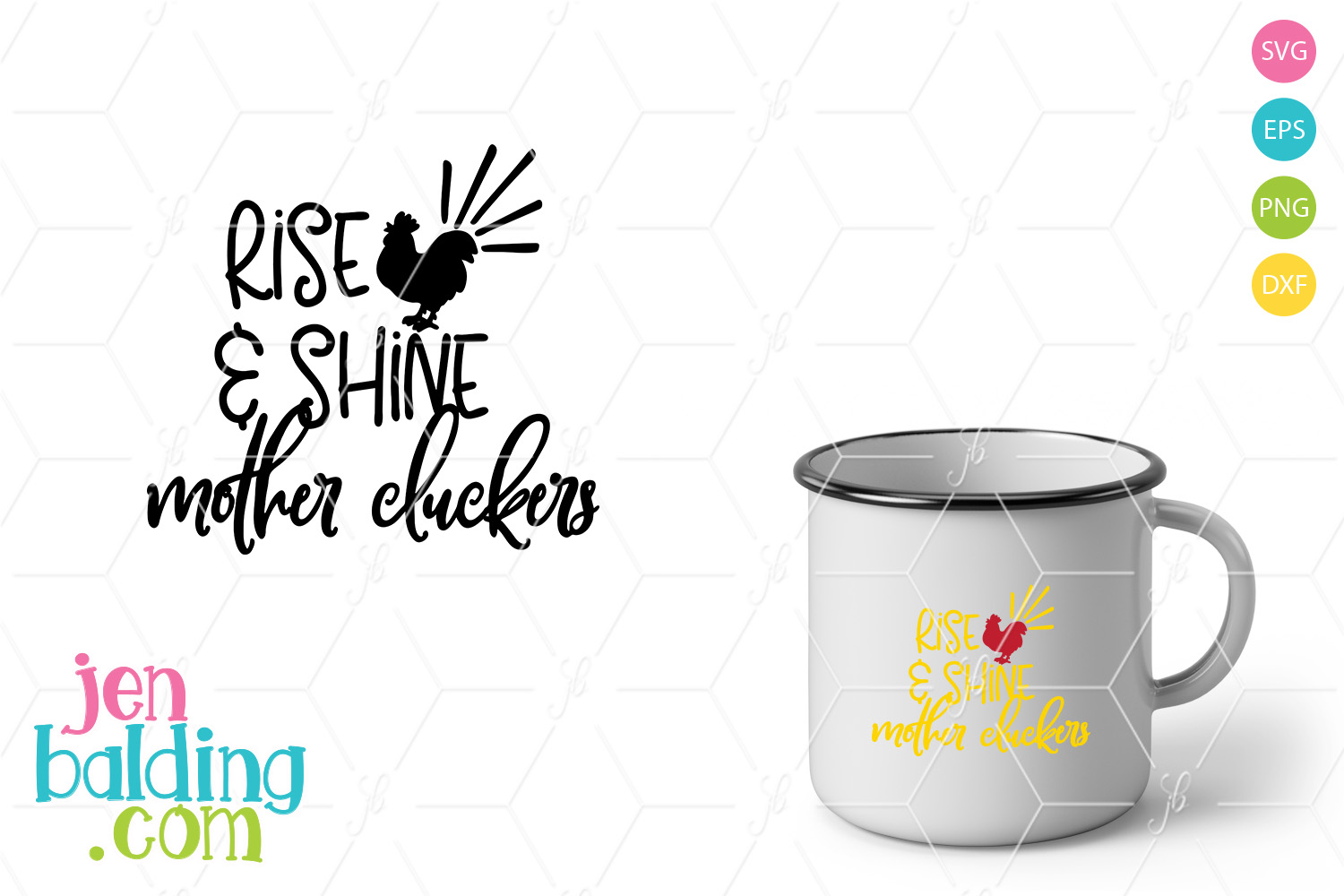 Rise and Shine SVG example image 1