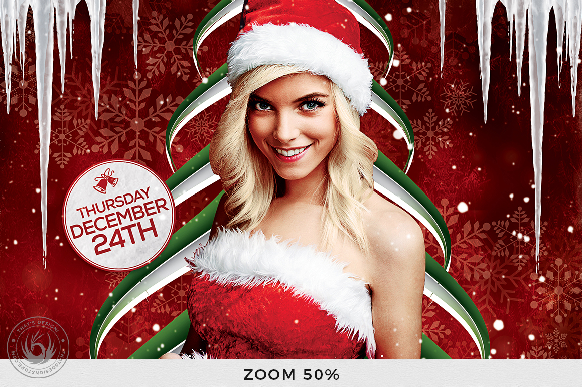 Christmas Eve Flyer Template V1 example image 8