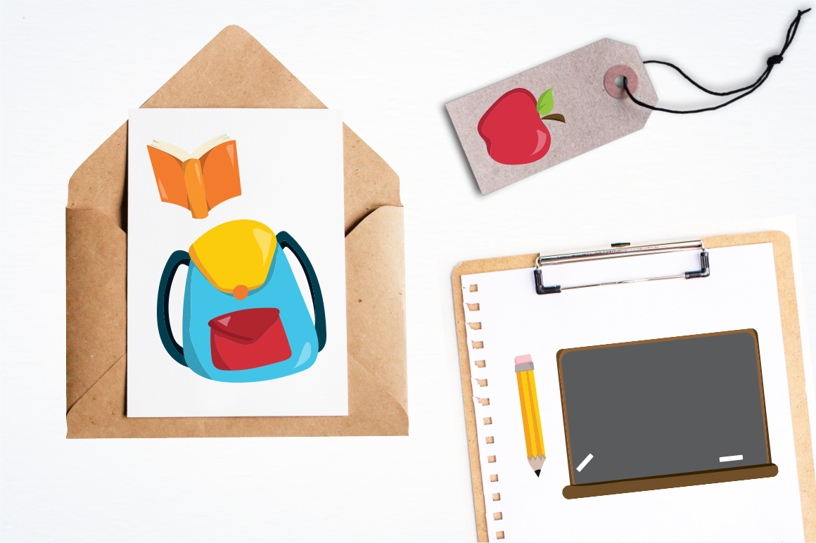 Back to School graphic and illustrations example image 5