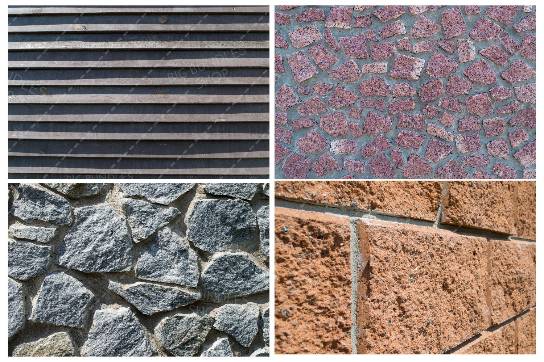 Bricks, fence and greenery example image 9