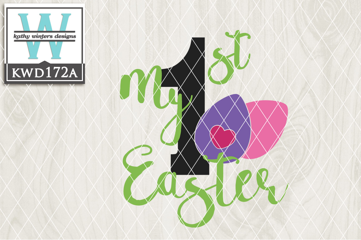 Easter Cutting File KWD172A example image 1