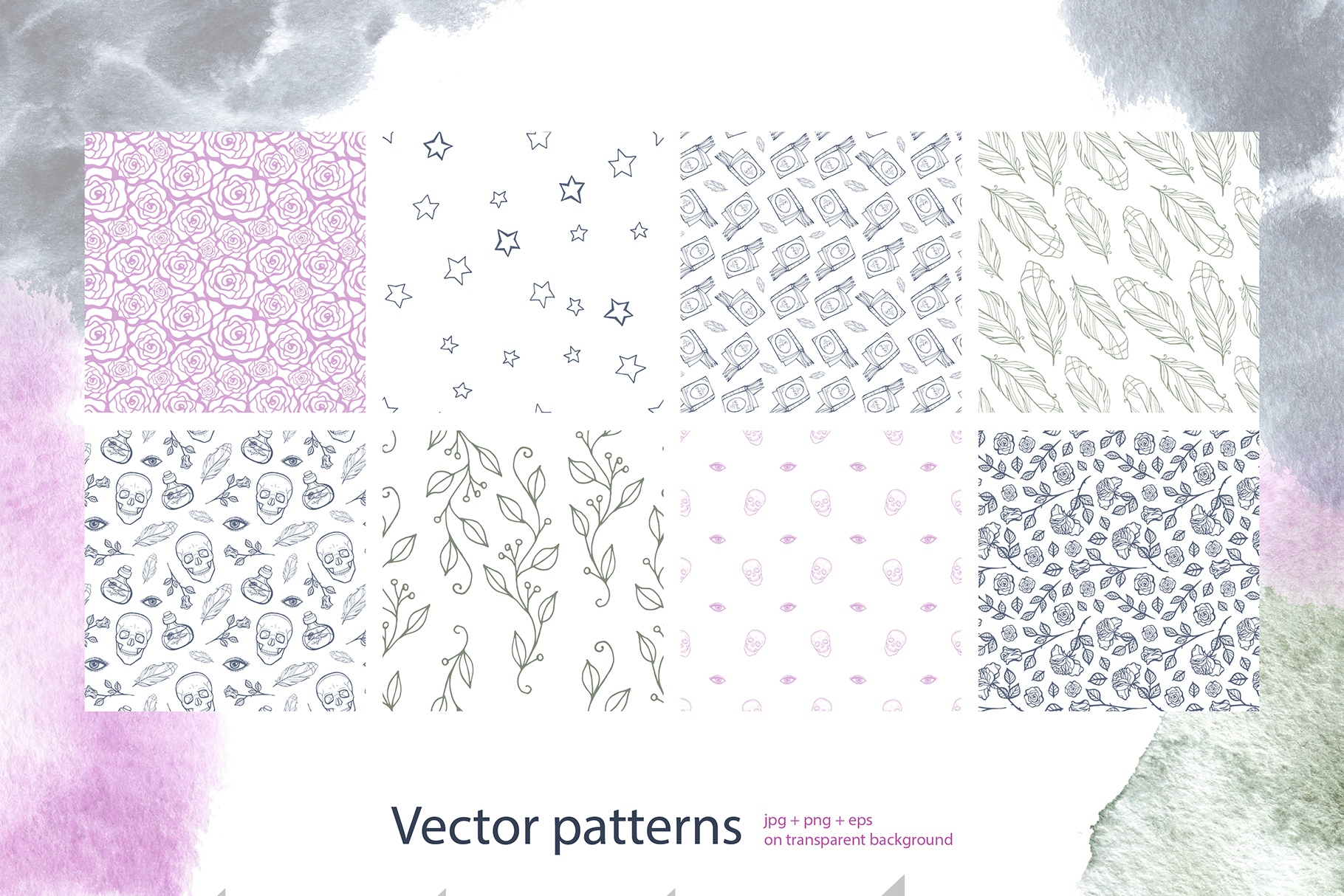 Mystical pattern constructor example image 3