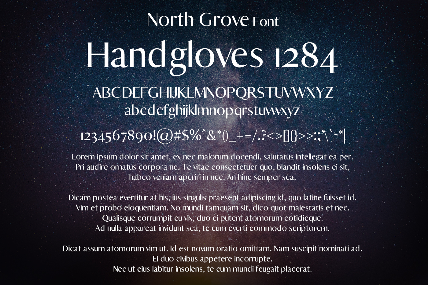 North Grove Font example image 2