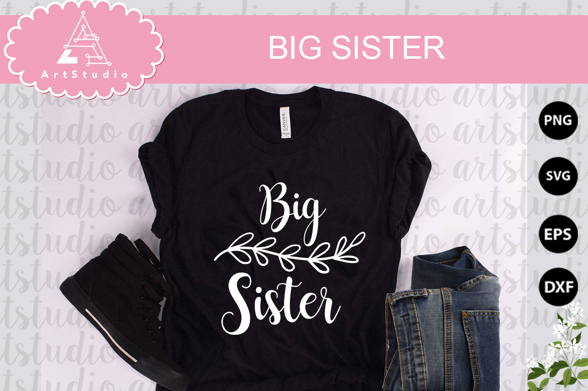 Big Sister INSTANT DOWNLOAD! example image 1
