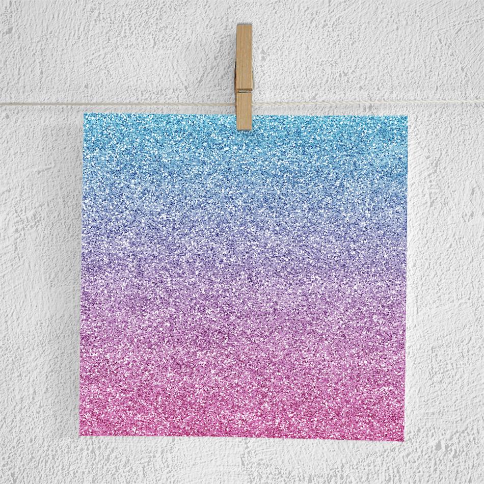 Gradient Glitter Digital Paper example image 2
