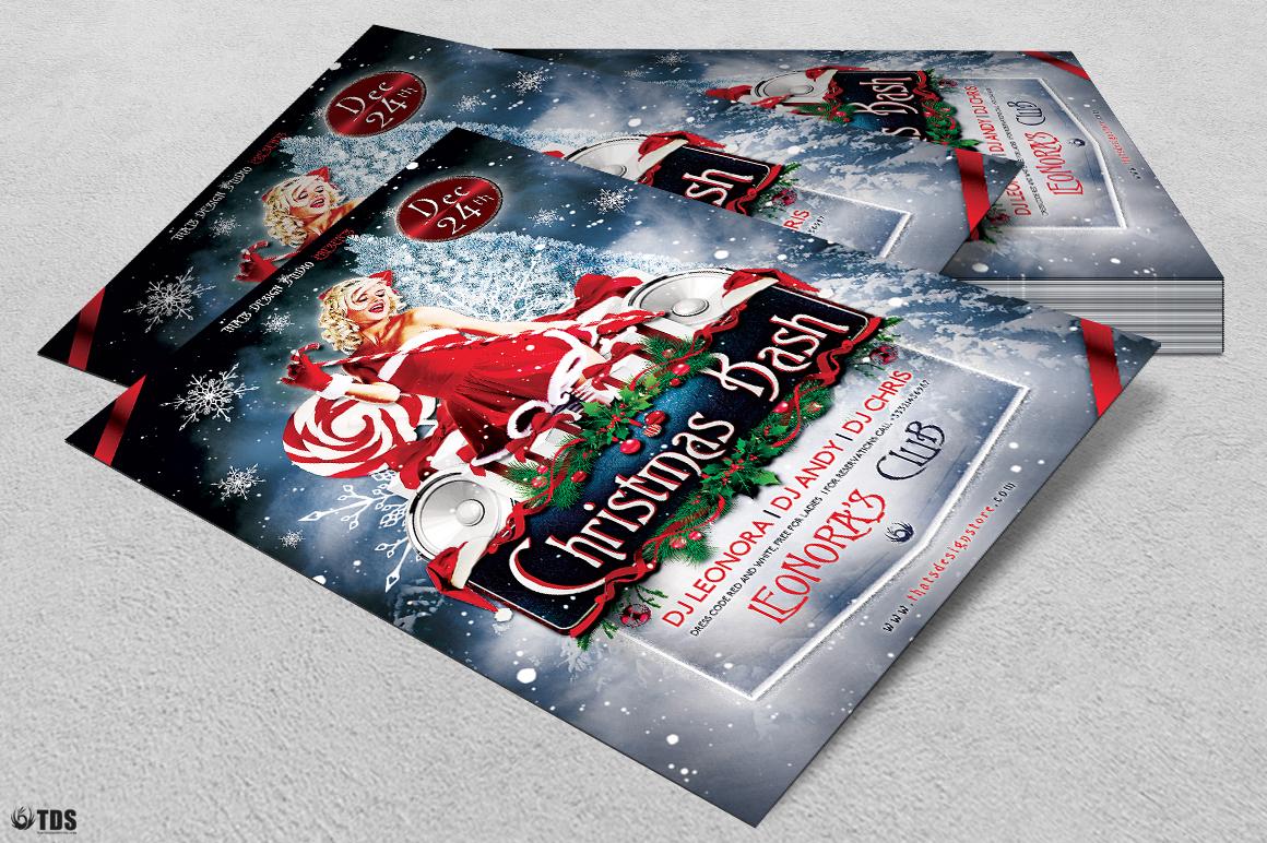 Christmas Bash Flyer Template V1 example image 4