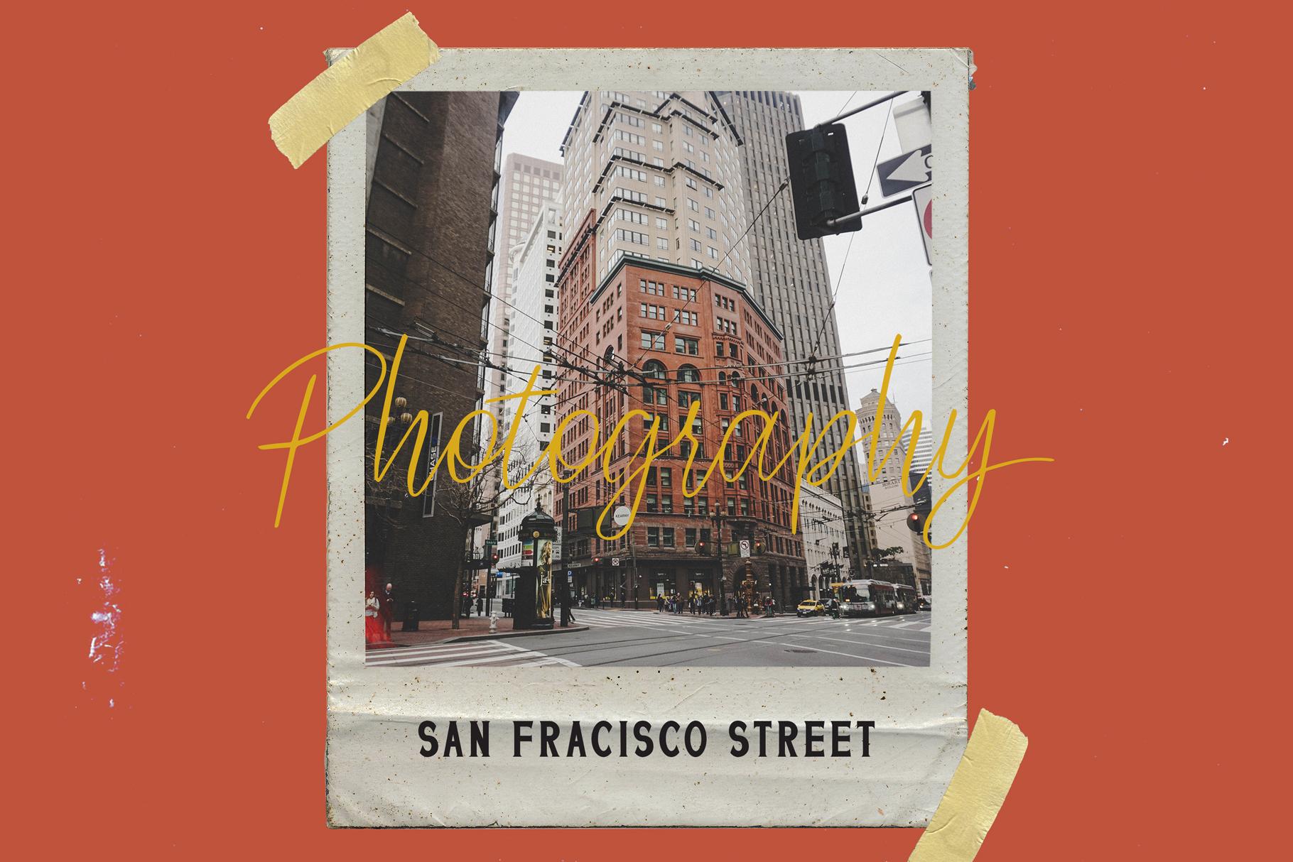 San Francisco Street Font Duo example image 2