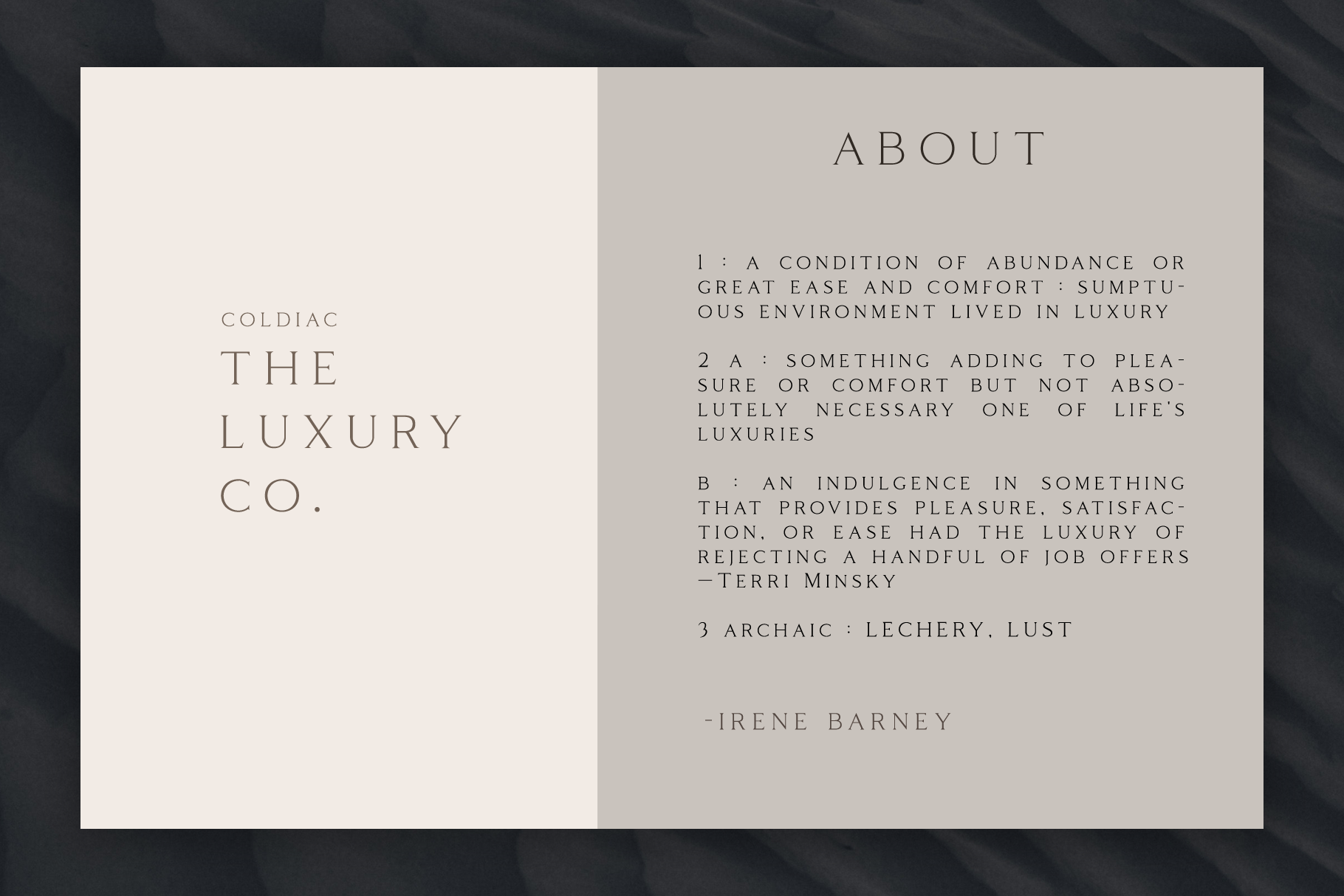 Coldiac - Luxury Serif Font example image 2