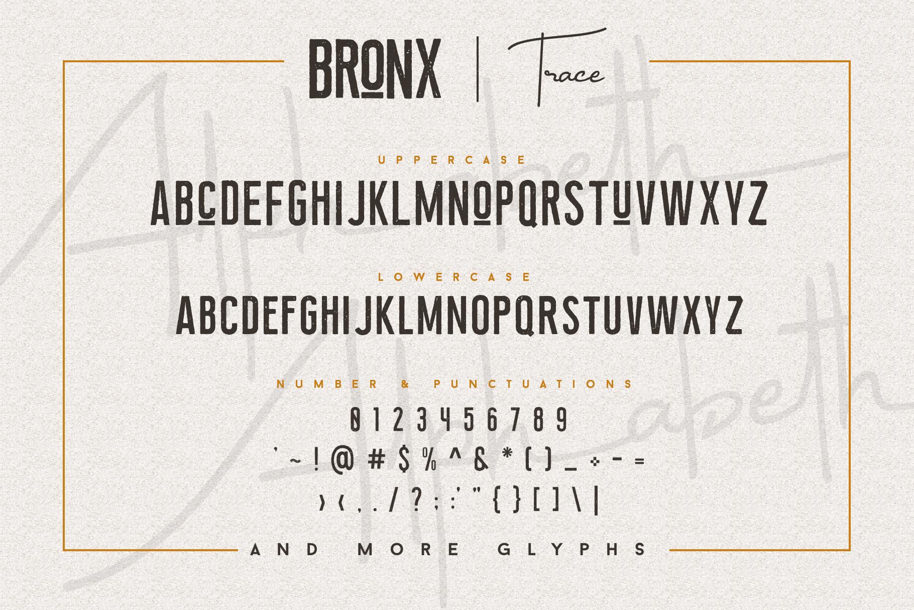 Bronx Simpul Sans-Script Font Duo example image 13