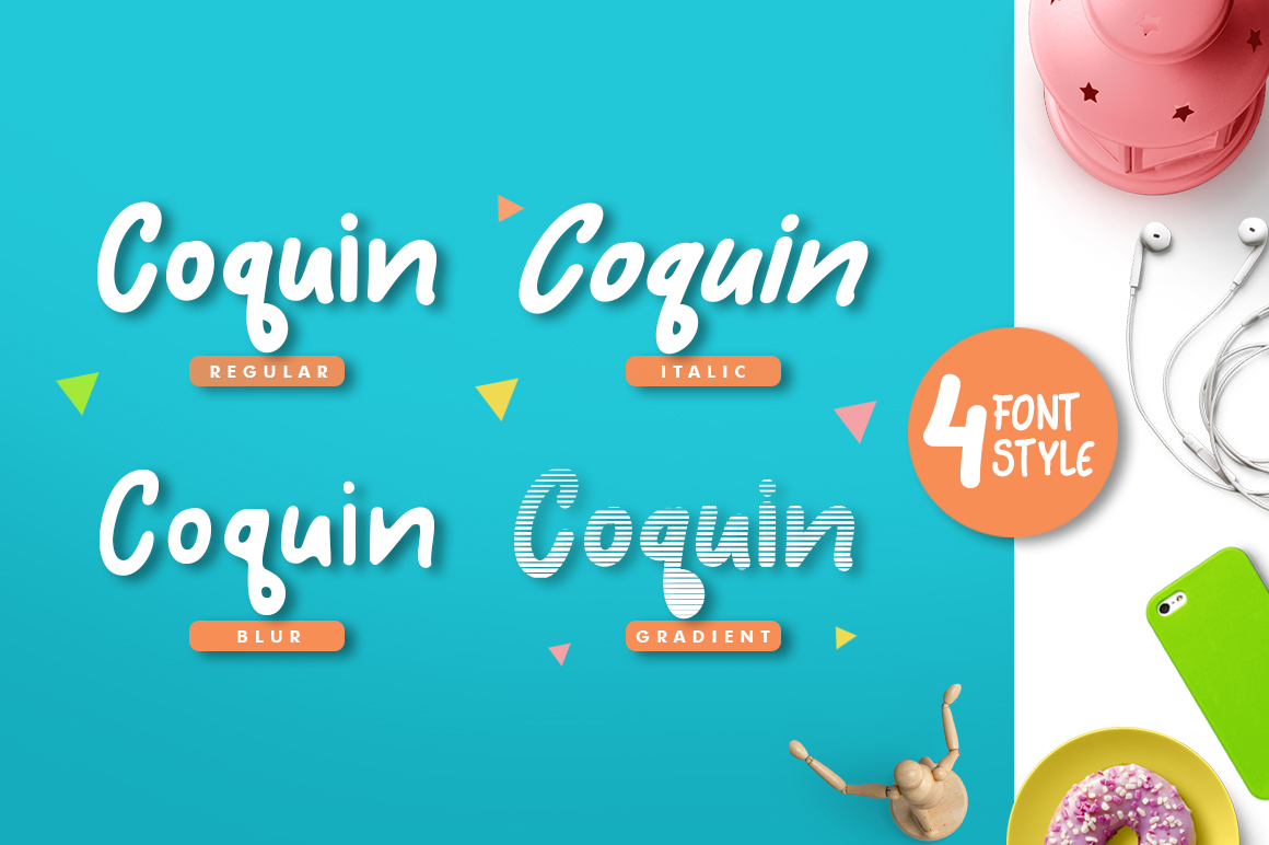 Coquin Typeface example image 2