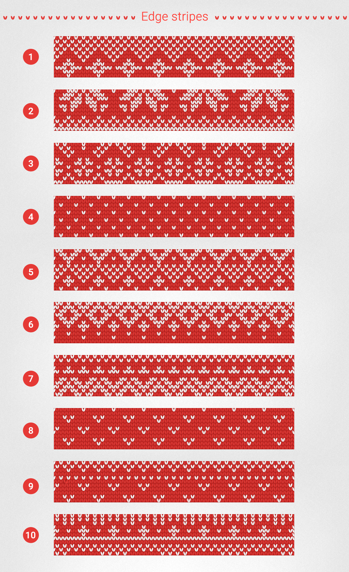 1000 Knitting Patterns Generator example image 11
