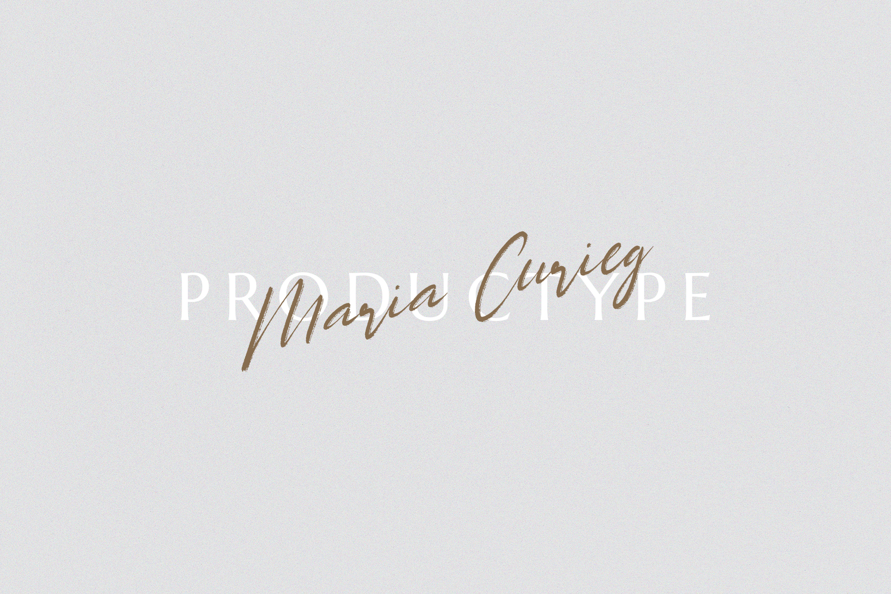 Maria Curieg Handwritten Brush Font example image 5