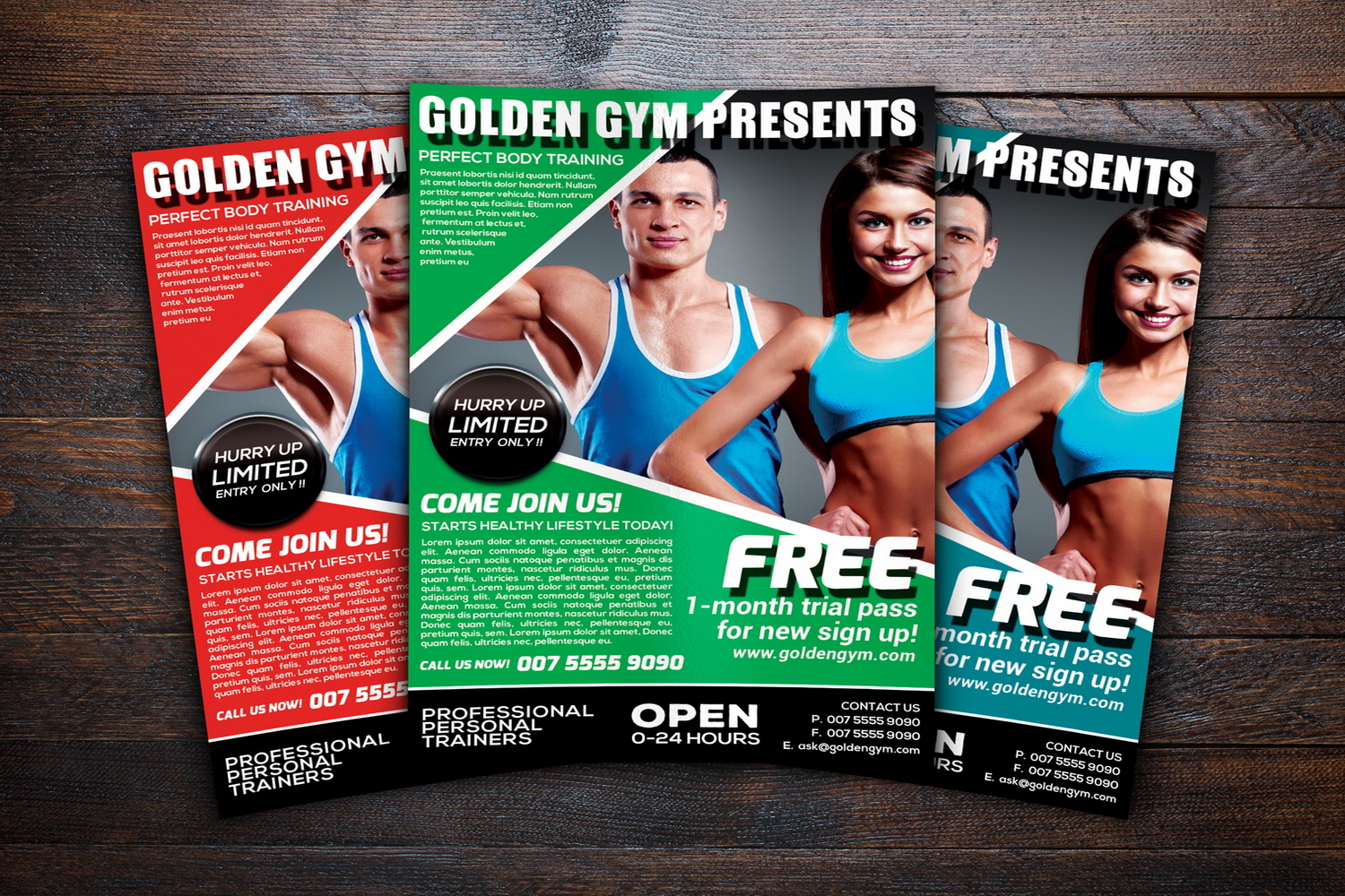 Fitness Sports Flyer example image 3