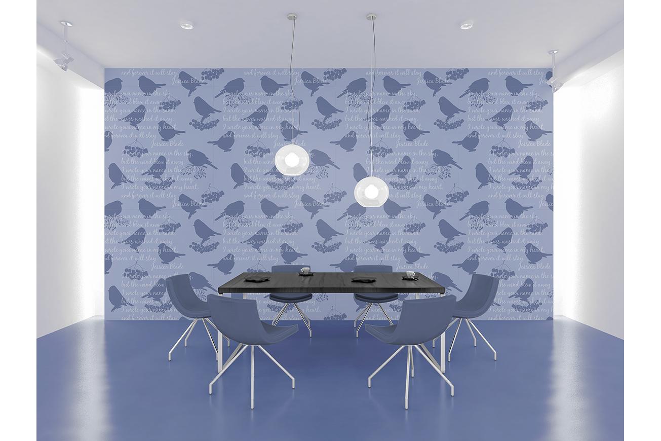 Sketch birds. Vector set. example image 8