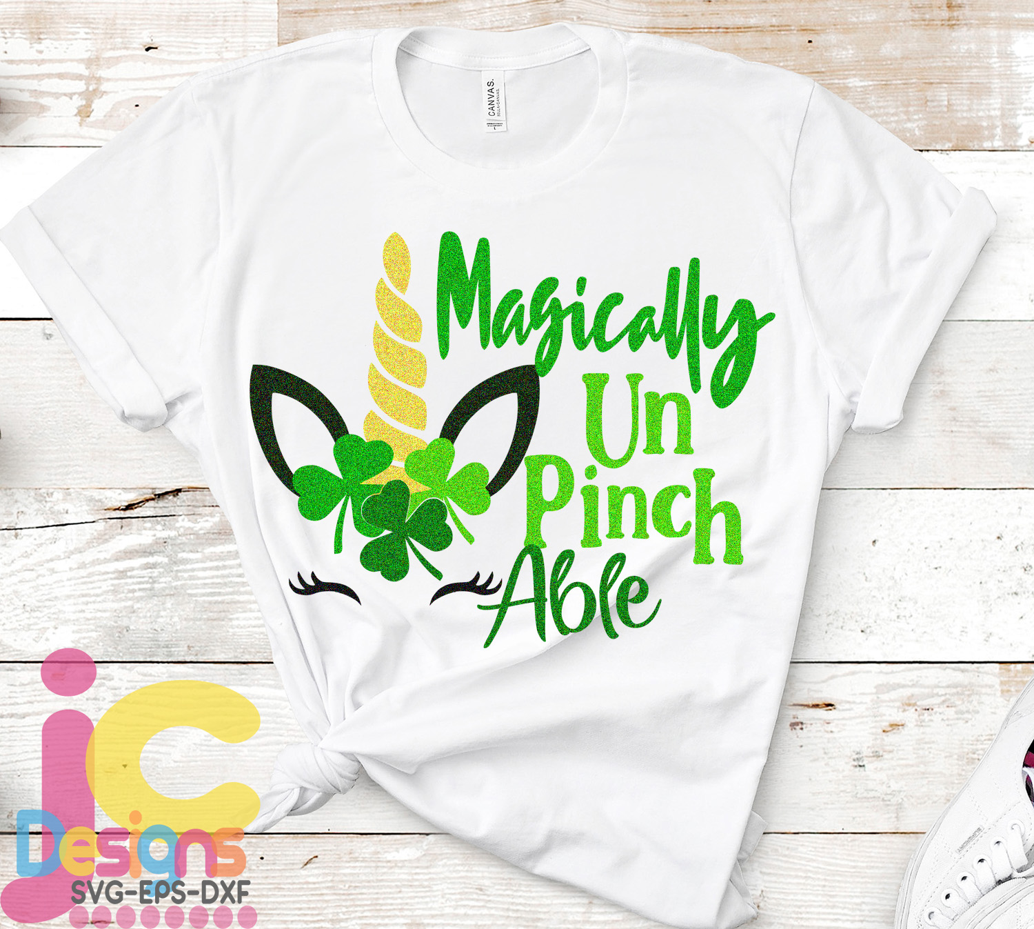 St. Patrick's day SVG, Unicorn SVG, Magically Unpinchable example image 2