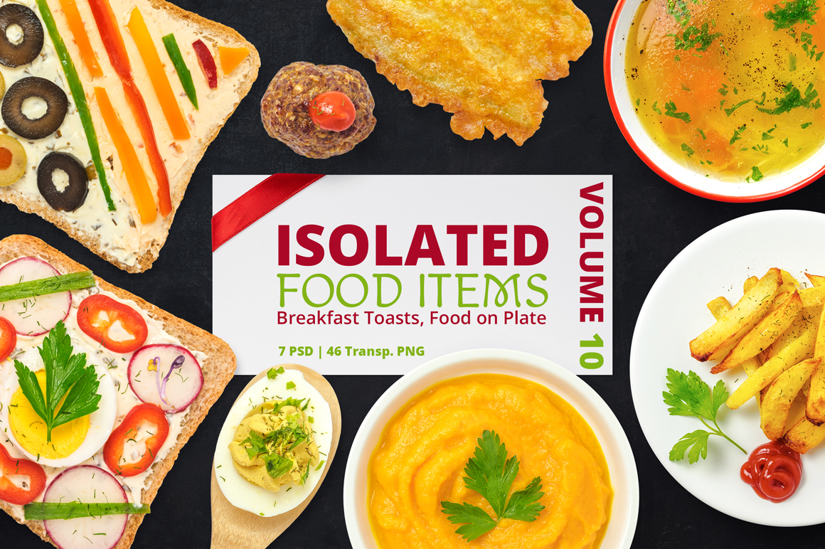 Isolated Food Items Vol.10 example image 1