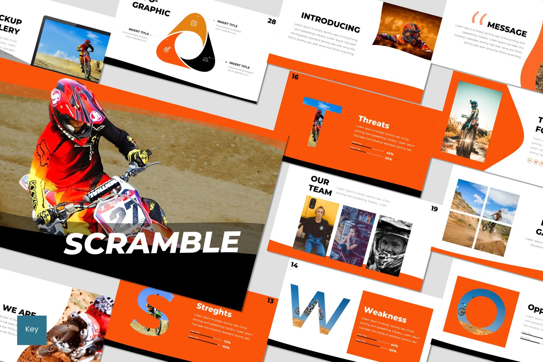 Scramble - Keynote Template example image 1