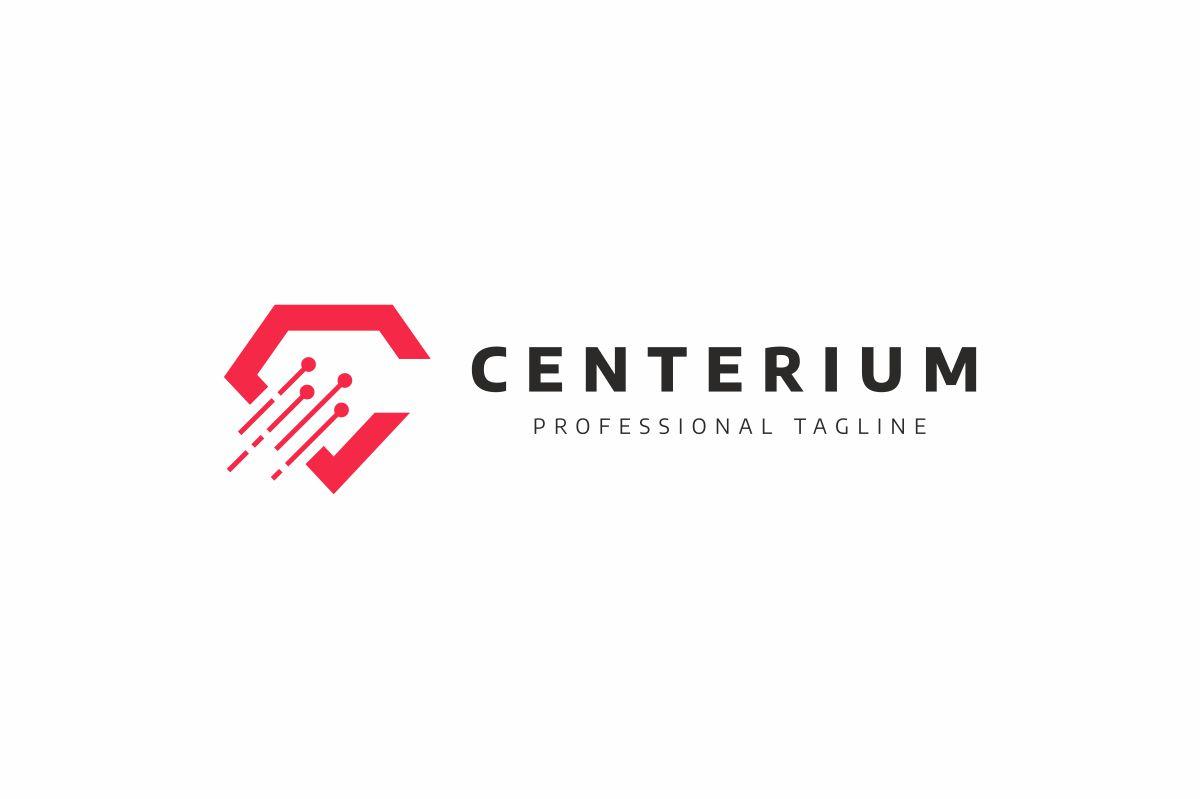 Centerium C Letter Logo example image 2