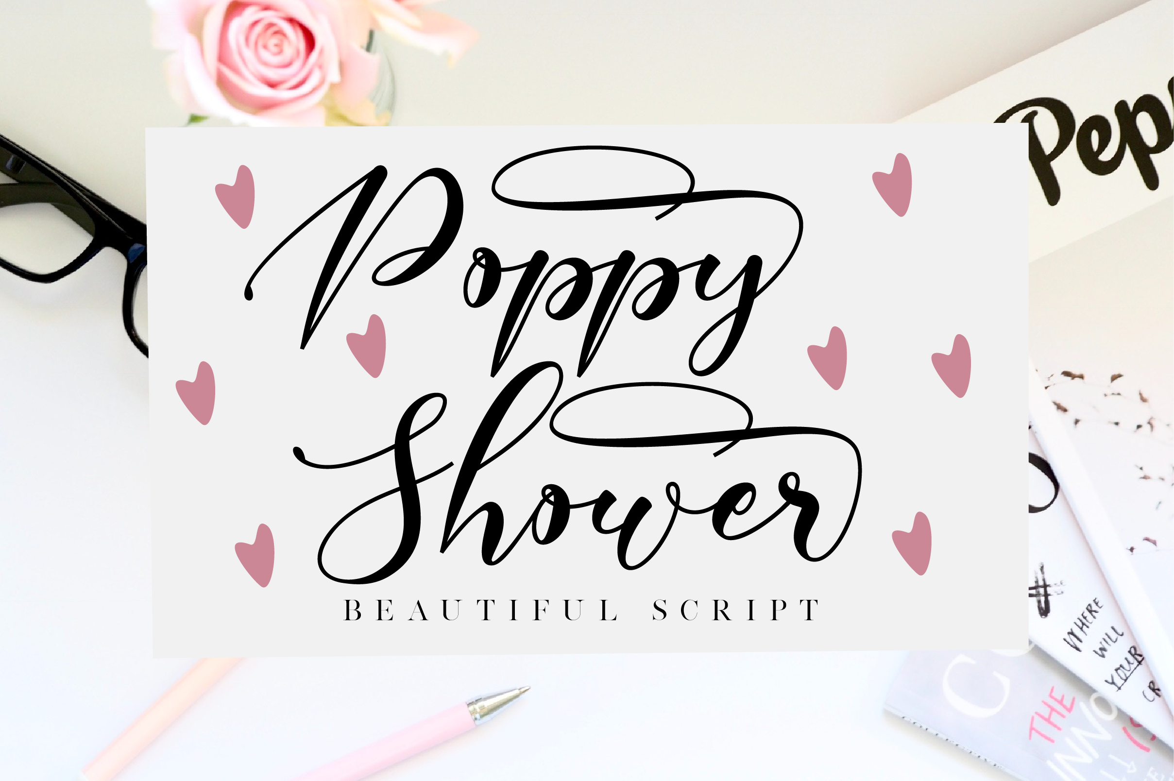 Spectacular Fonts Bundle example image 10
