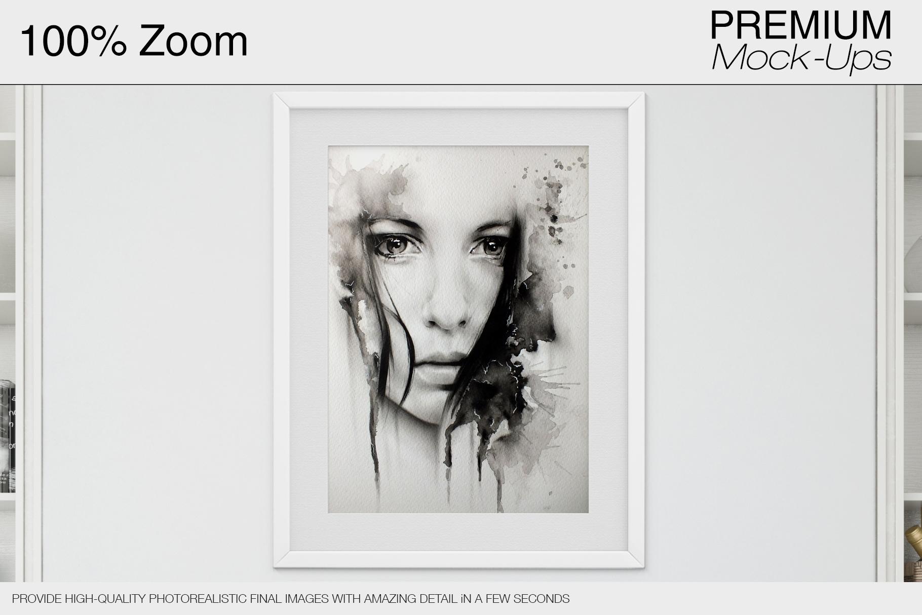 Pillows & Frames Mockup Set example image 23