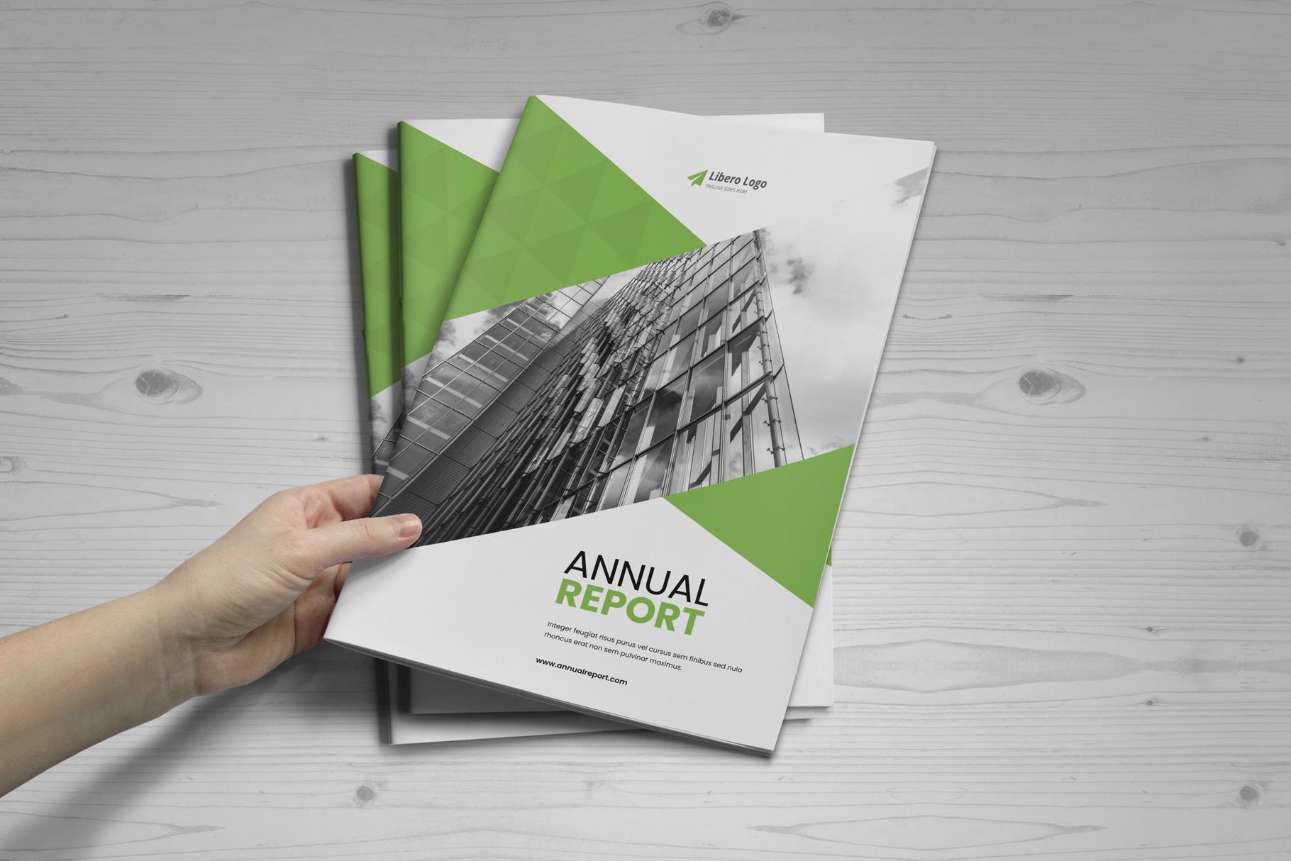 Annual Report Design v6 example image 17