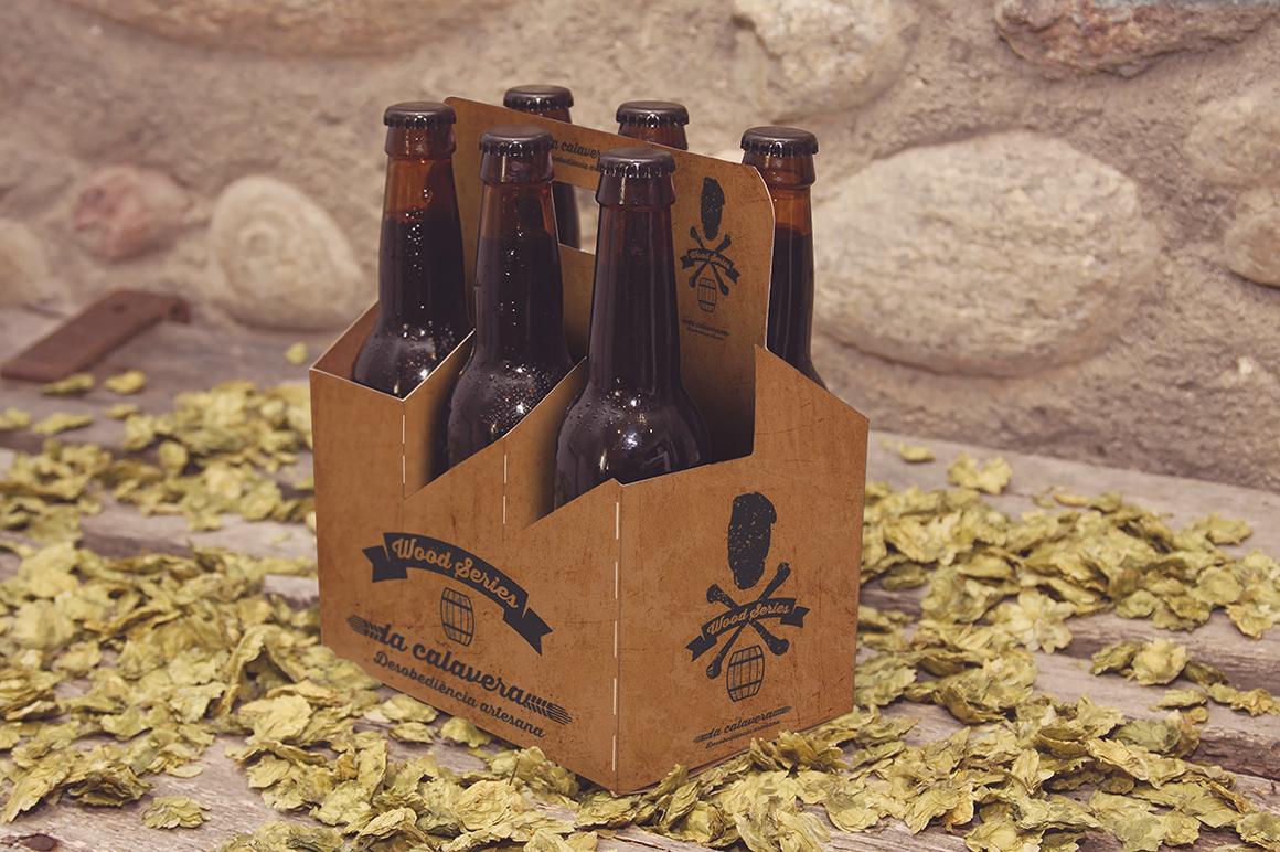 6 Pack Beer Mockup example image 8