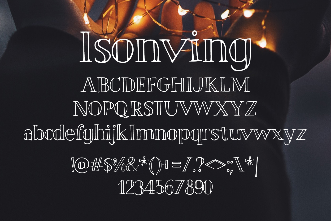 Isonving Font example image 2