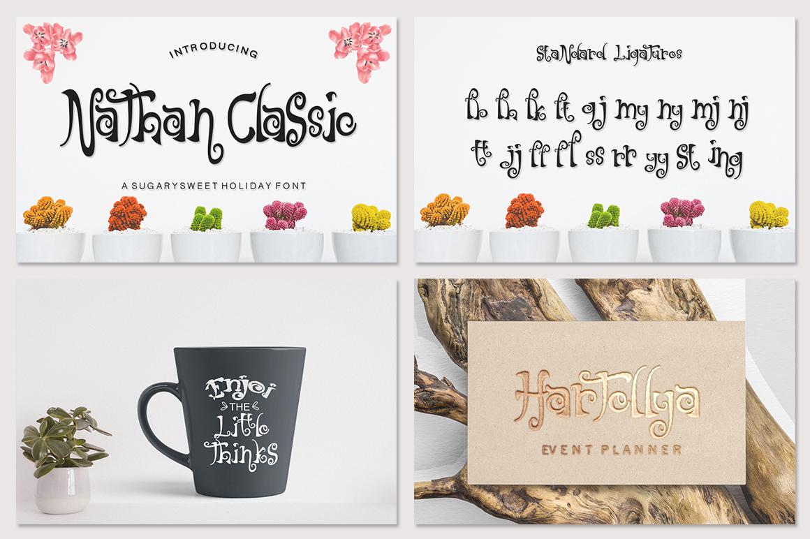 Mini Fantastic Font Bundle 7 Collection Font example image 8