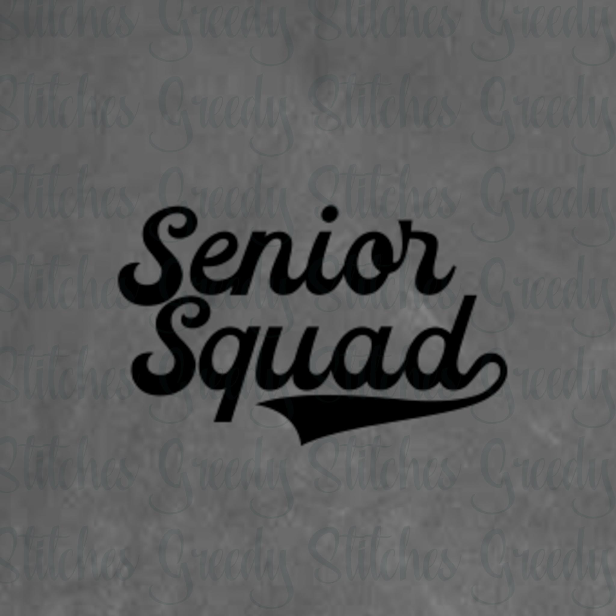 c6fd2e8fc Class of 2019 Senior Bundle svg, dxf, eps, png. Senior 2019 example