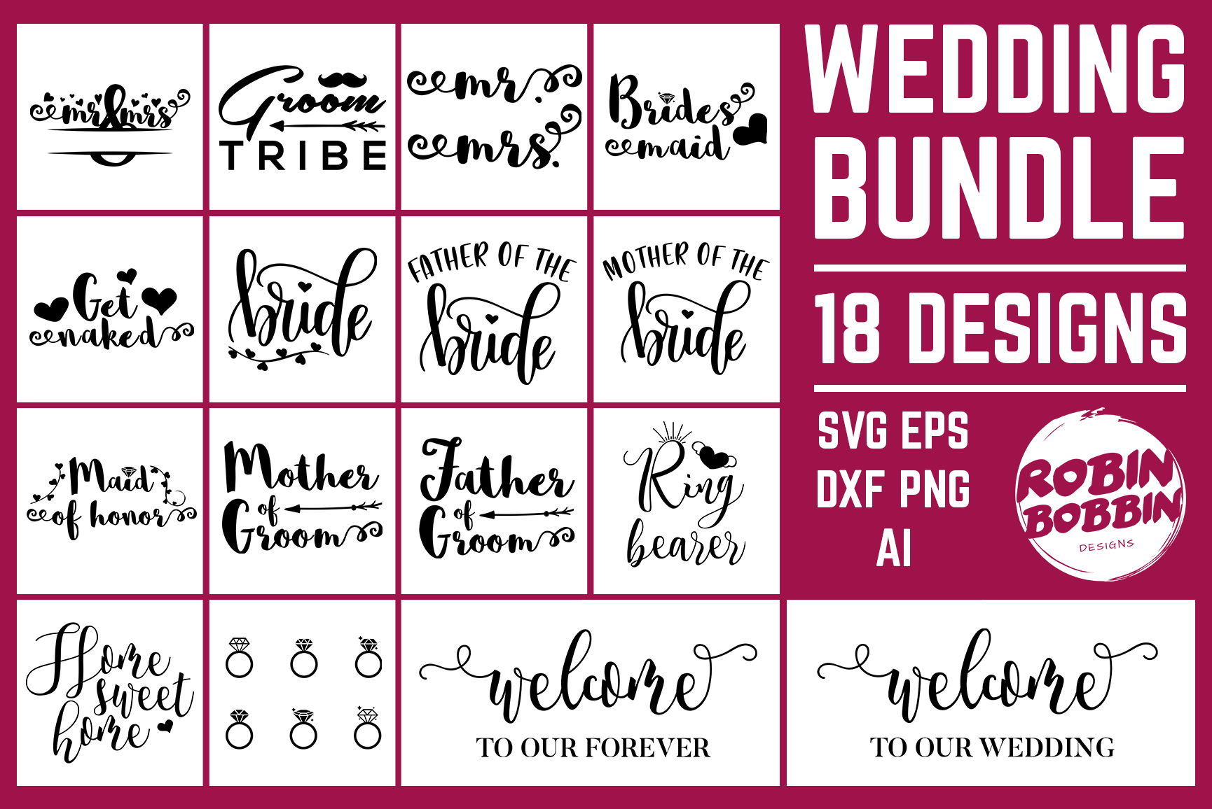 Mega SVG Bundle - Cut Files Bundle - Mega Bundle Over 700 example image 27