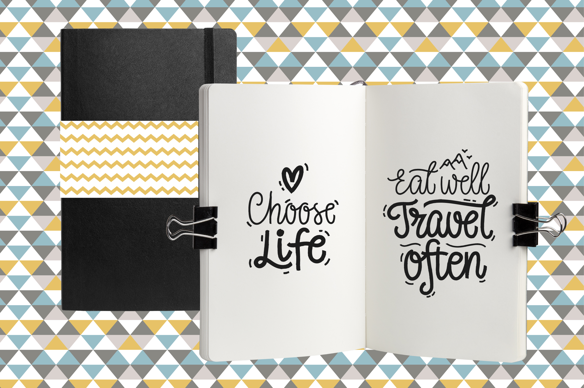 Motivational Vector Letterings example image 3