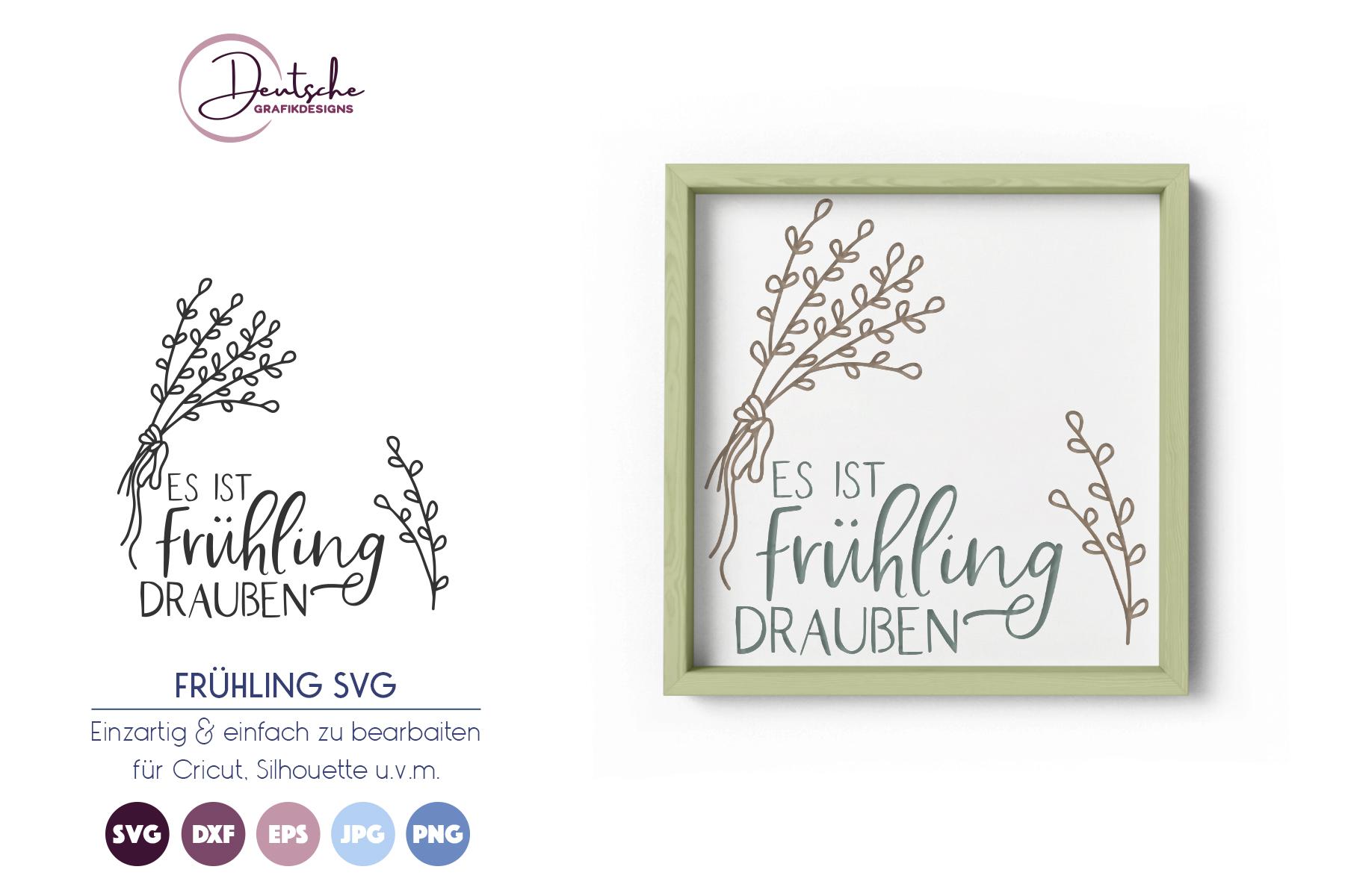 Es ist Frühling draußen SVG example image 1