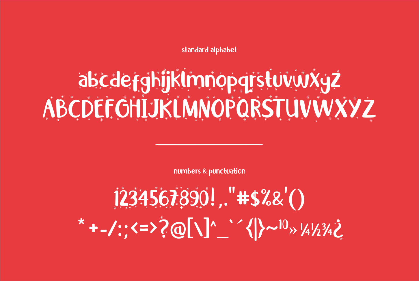 Little Santa Font | merry christmas font | 8 christmas cards example image 6