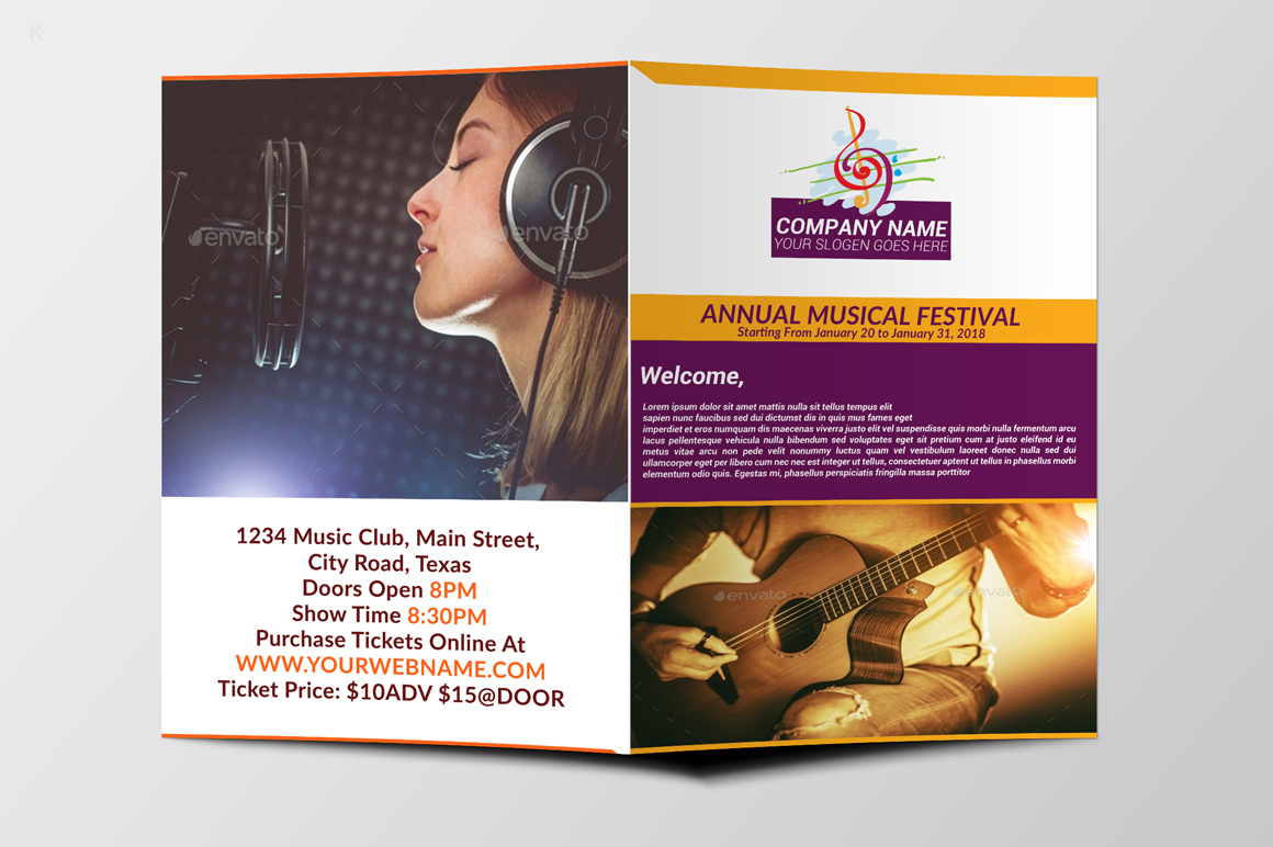 Music Festiva Bifold example image 6