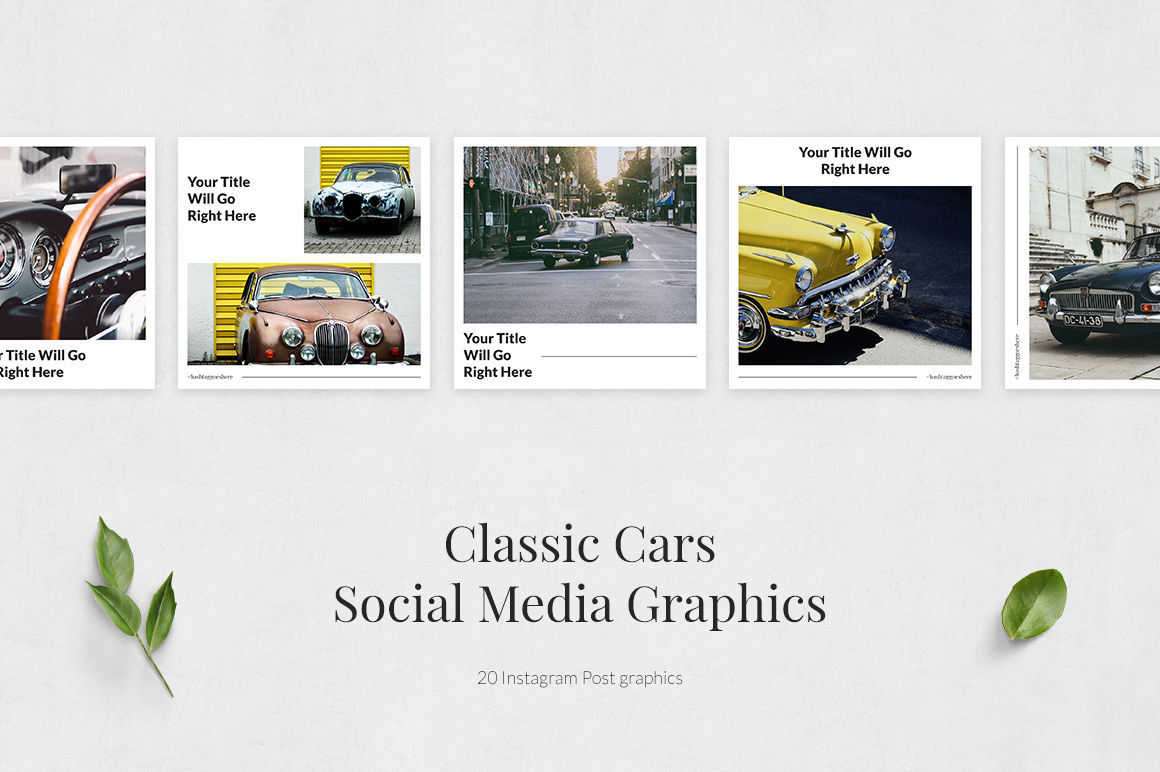 Classic Cars Instagram Posts example image 2