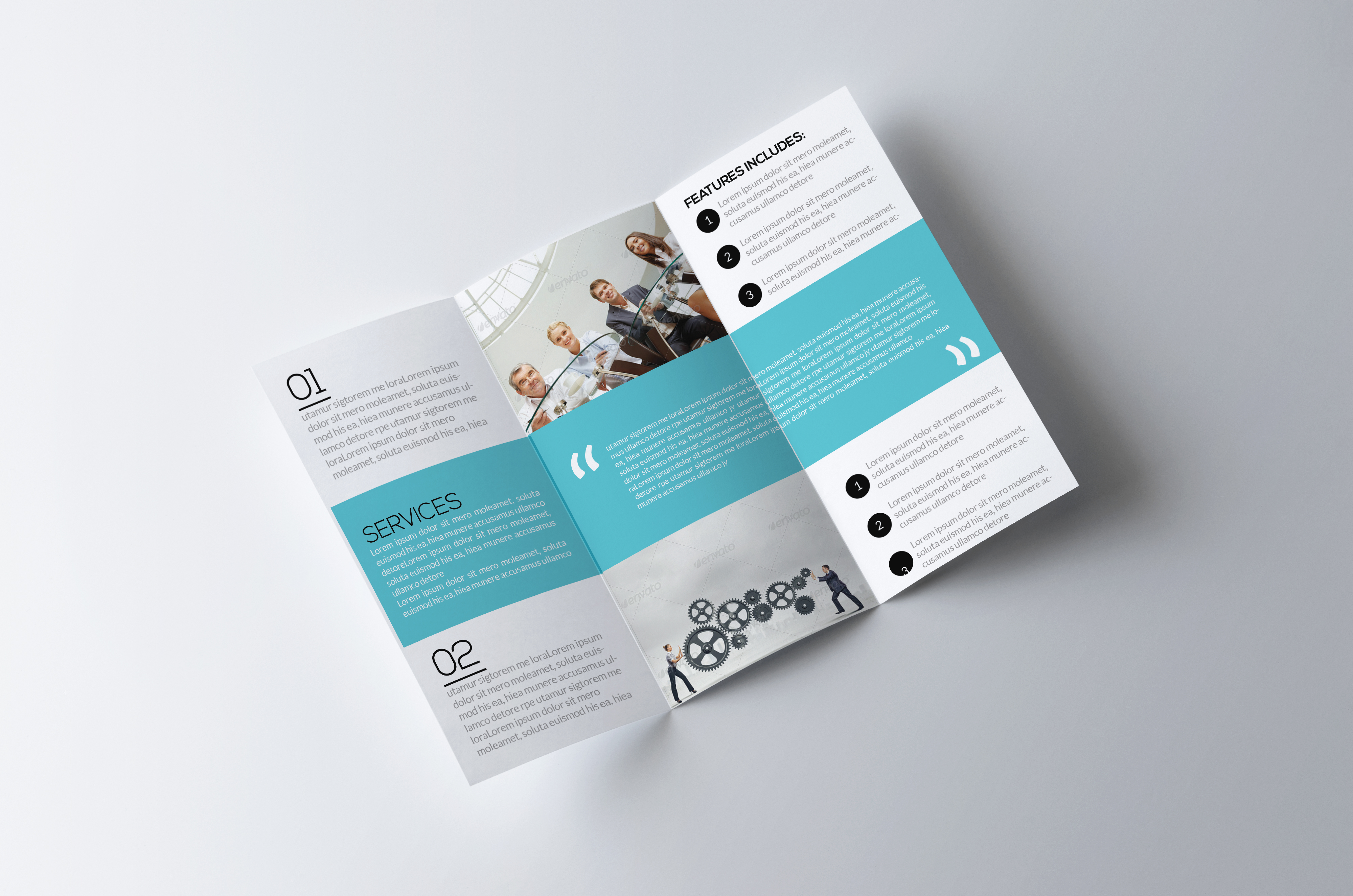Trifold Psd example image 2