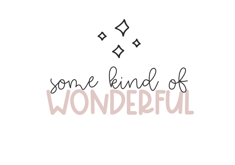 One Wish - Handwritten Script & Print Font Duo example image 7