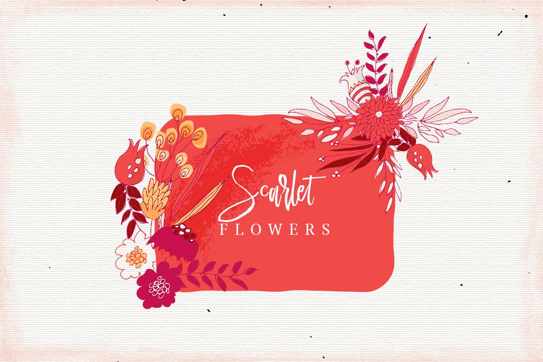 Scarlet Flowers example image 2