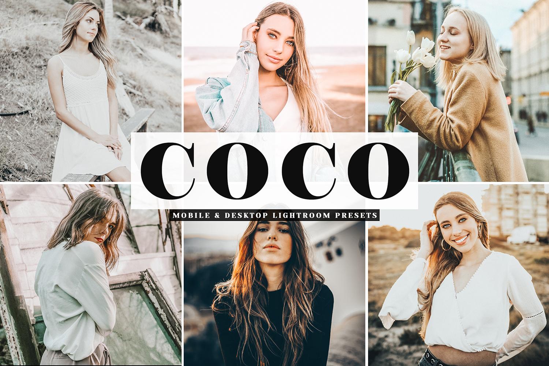 Coco Mobile & Desktop Lightroom Presets example image 1