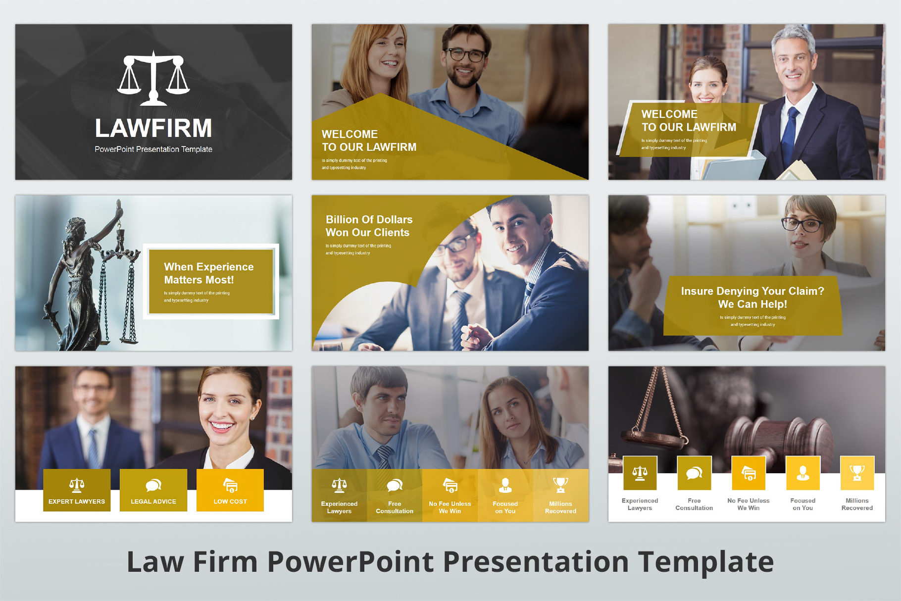 Law Firm PowerPoint Presentation Template example image 4