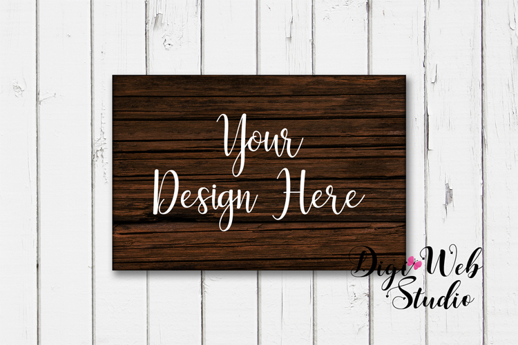 Wood Signs Mockup Bundle - 9 Piece Farmhouse Wood Signs 1 example image 9
