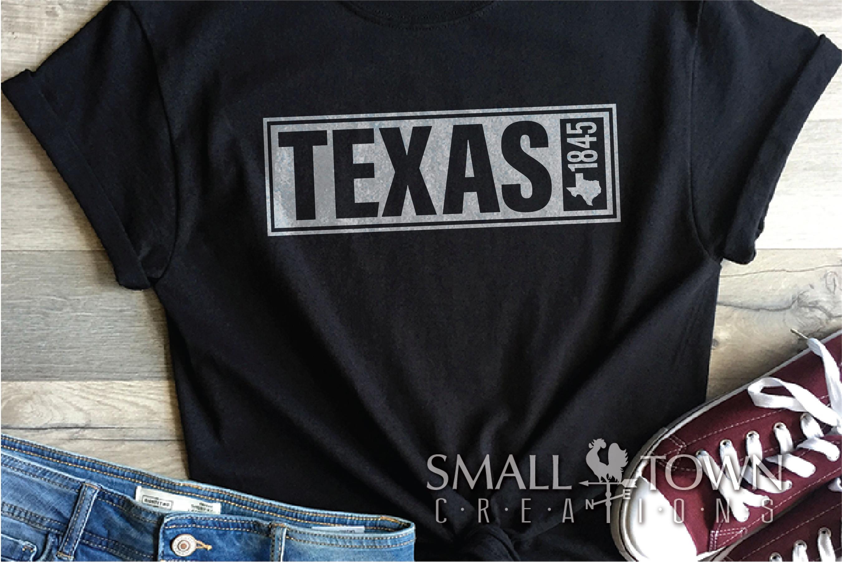 Texas, The Lone Star State slogan, logo, PRINT, CUT & DESIGN example image 8