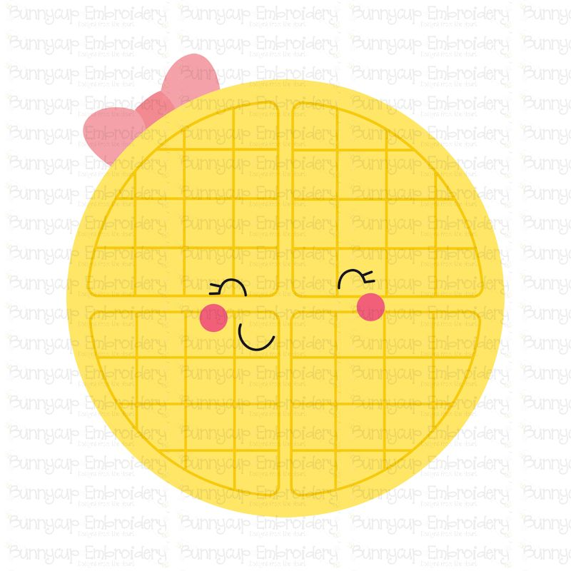 Food Duo - Waffle - SVG, Clipart, Printable example image 2