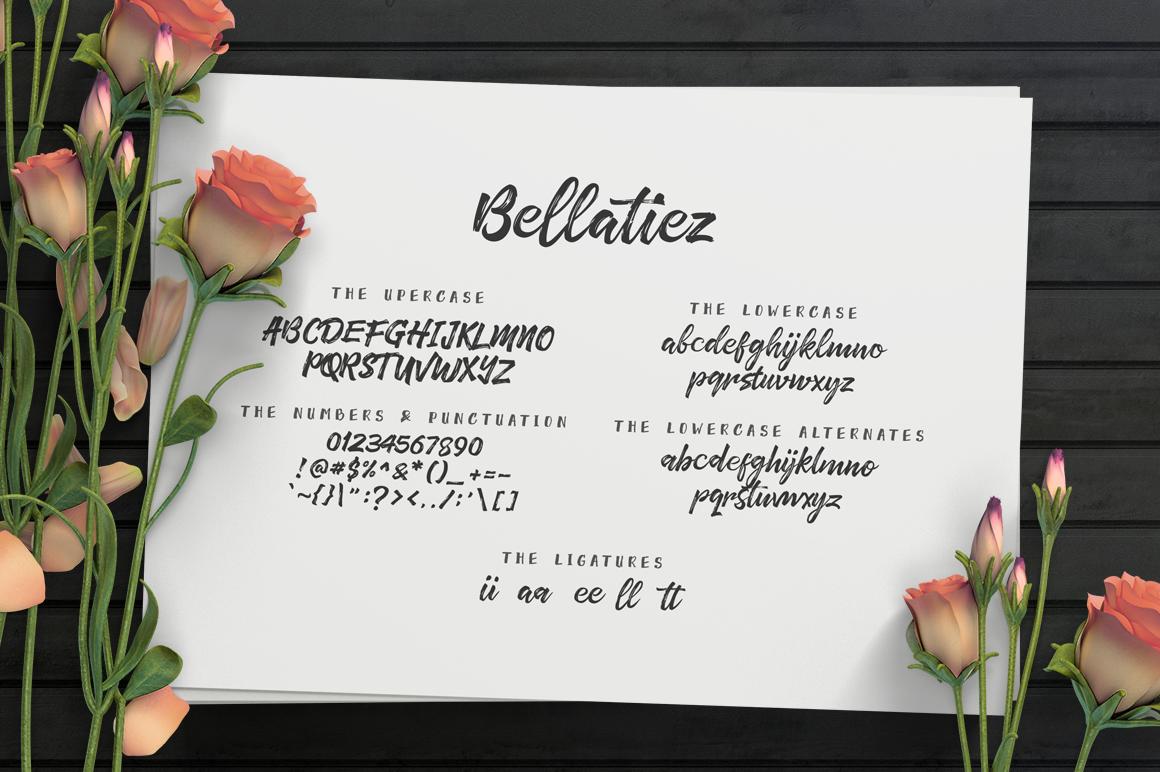 Bellatiez Font Duo example image 5