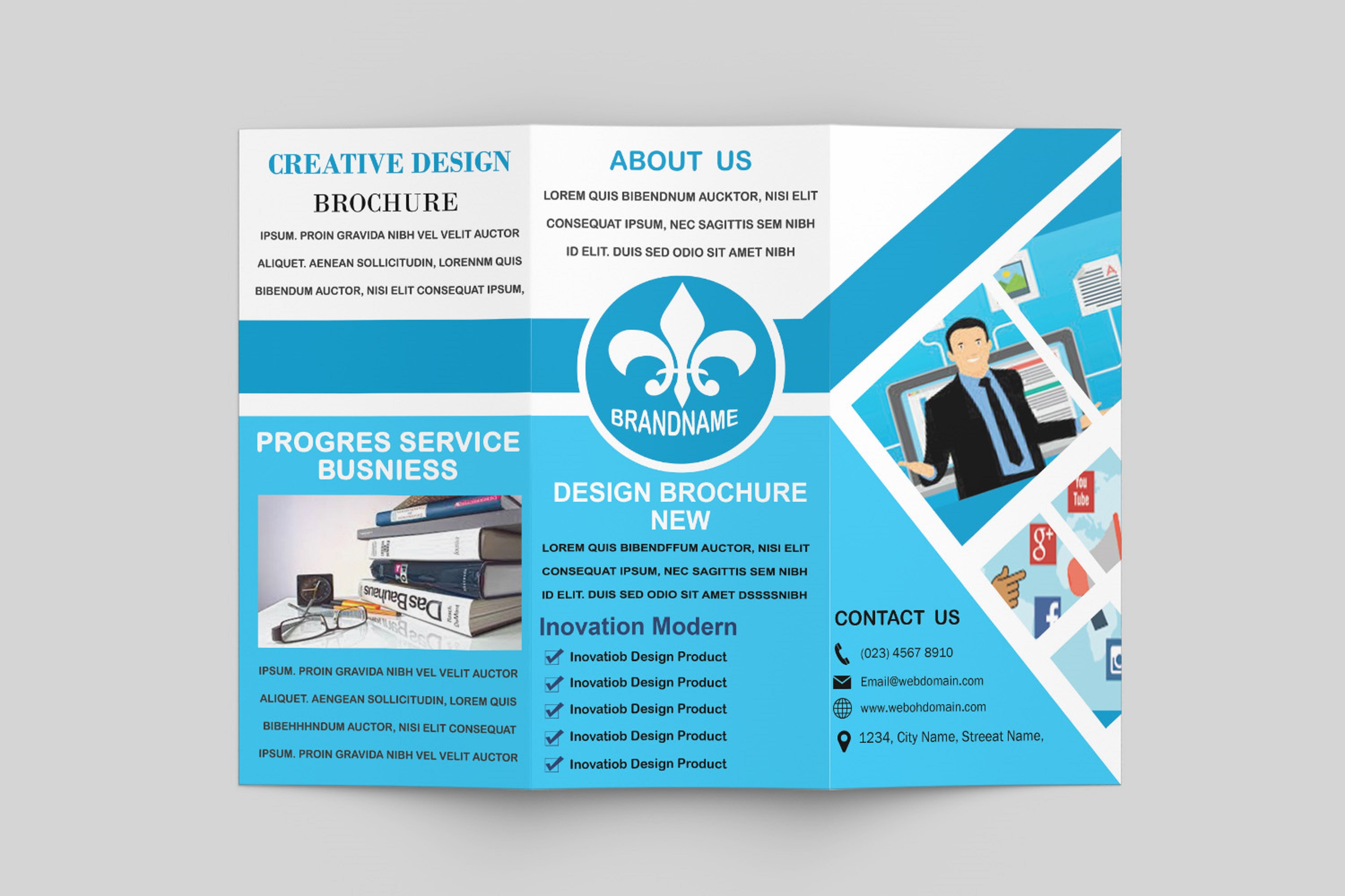 Trifold Brochure Template example image 2