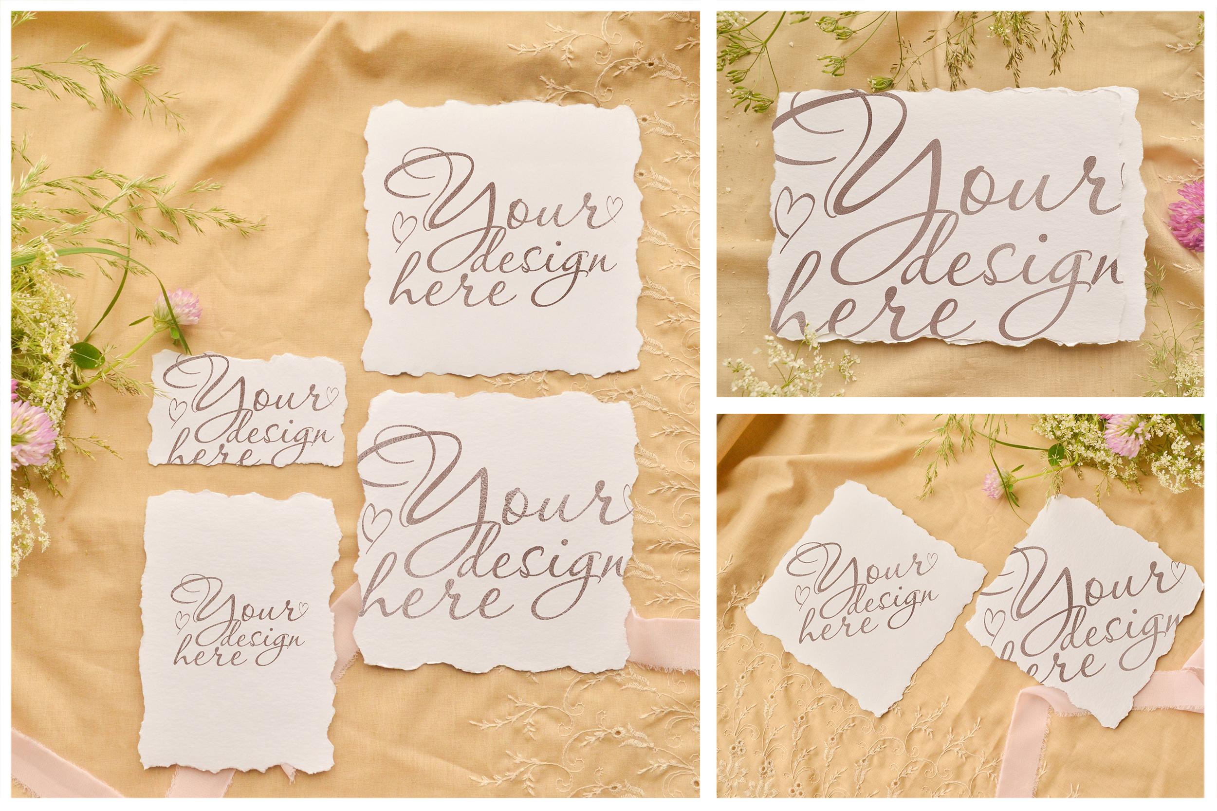 Honey Meadow. Wedding mockups & stock photo bundle example image 8