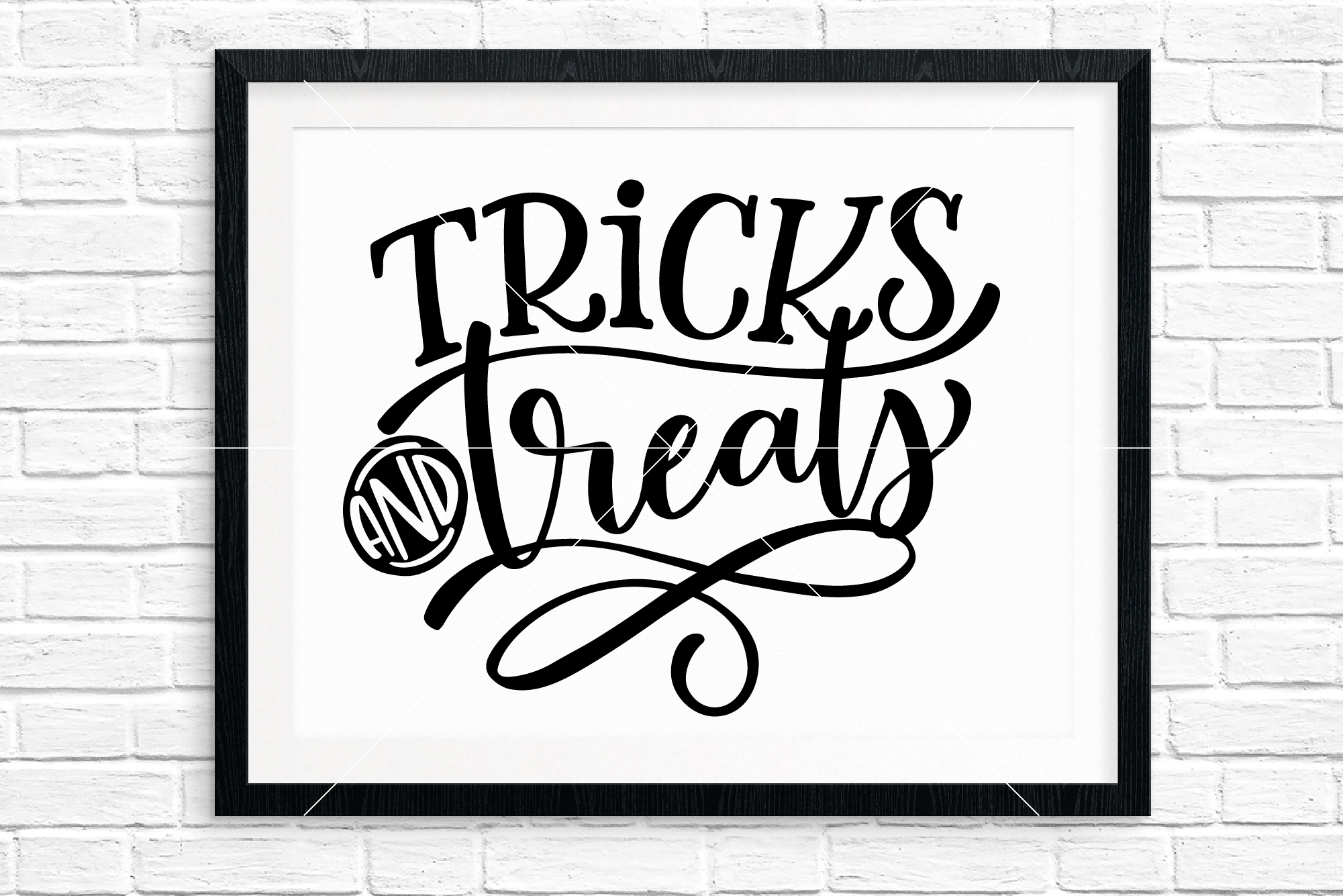 Halloween Hand Lettered Cut Files Bundle, SVG DXF EPS PNG example image 11